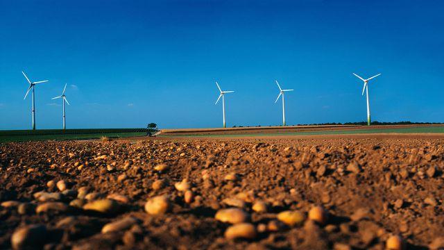 Windenergie, Landschaftsbild