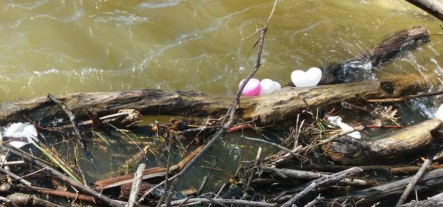 Luftballons sind Umweltverschmutzung