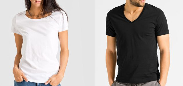 buy online 4f0e2 aff80 T-Shirts, Tops & Co: günstige Mode-Basics fairer Marken ...