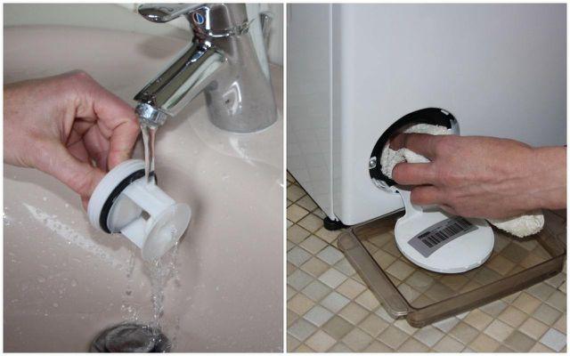 Waschmaschinen-Flusensieb reinigen ist ganz einfach und schnell erledigt.