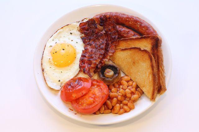 """Rezept für ein """"English Breakfast"""""""