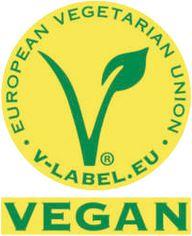 """Das V-Label der """"Europäischen Veganer-Union"""""""