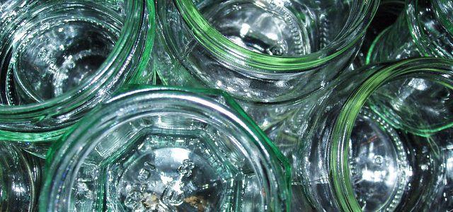 Plastikfrei: Einfrieren in Schraubgläsern