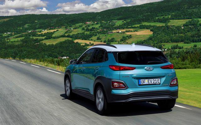 Hyundai Kona Elektro - der Preis liegt bei um die 35.000 Euro