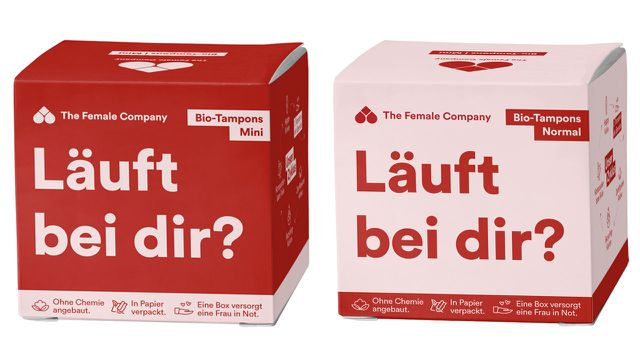 dm, Tampons, Papier, Verpackung, Plastikfrei, The Female Company
