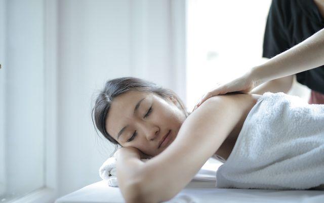staycation ideas -- massage