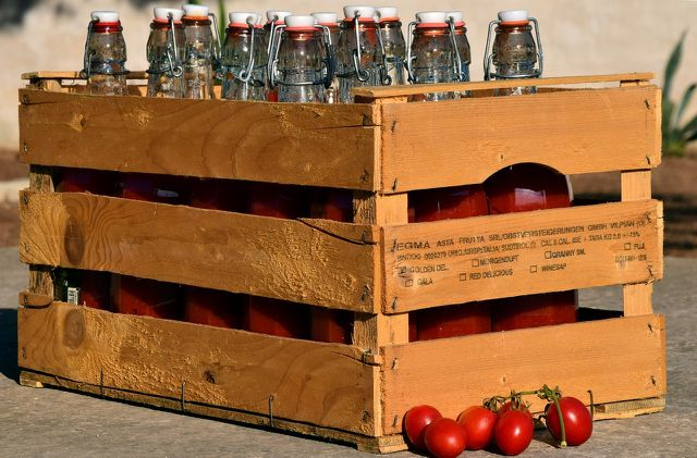 De Barao Tomaten sind vor allem zum Einkochen geeignet.
