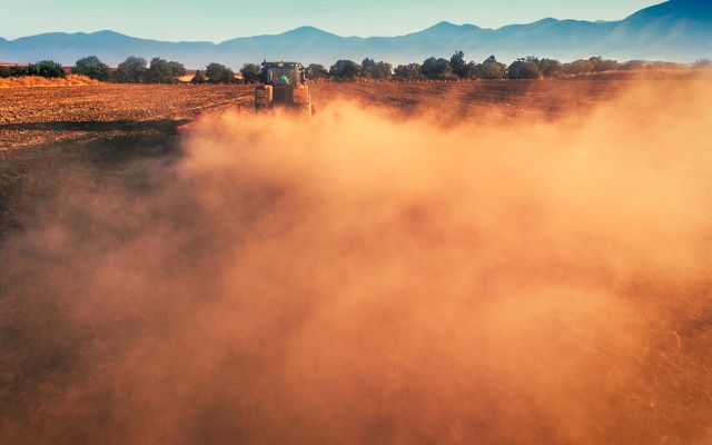Luftverschmutzung: Feinstaub kommt auch aus der Landwirtschaft