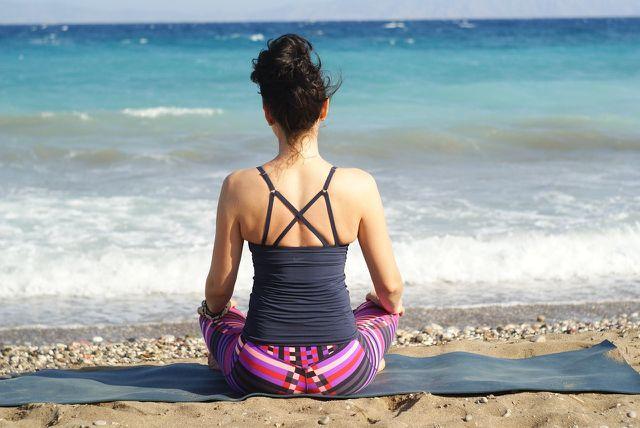 Beobachte deinen natürlichen Atem - das ist die einfachste Pranayama-Übung.