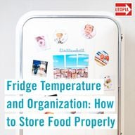 Fridge Temperature and Organization: How to Store Food Properly