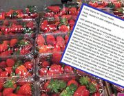 Facebook Erdbeeren Supermarkt Saison