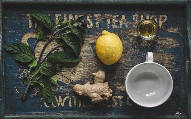 herbal tea when pregnant