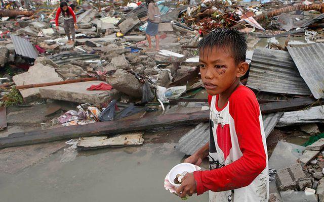 climate change: Super Typhoon Haiyan