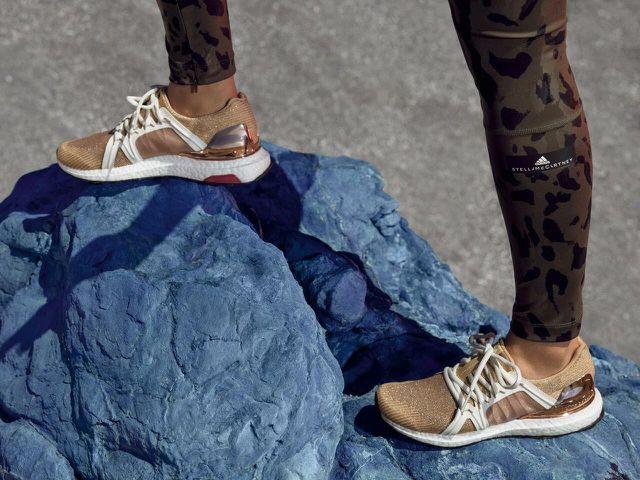 Aus Econyl: Golden Ultra Boost von Adidas