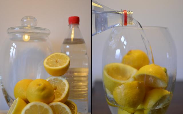 Lemons and Vinegar All-Purpose Cleaner