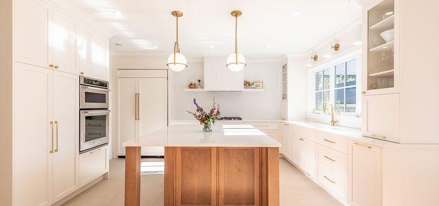 Minimalistische Küche
