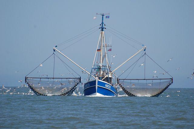 Fischkutter an der Nordsee