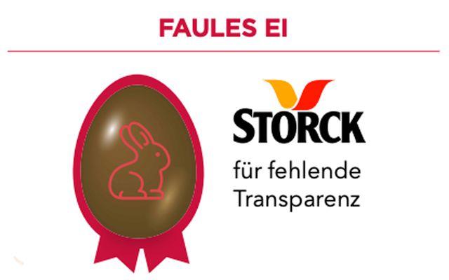 Faules Ei für Storck