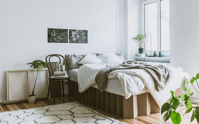 Das 90 Euro Bett Aus Pappe Room In A Box Utopiade