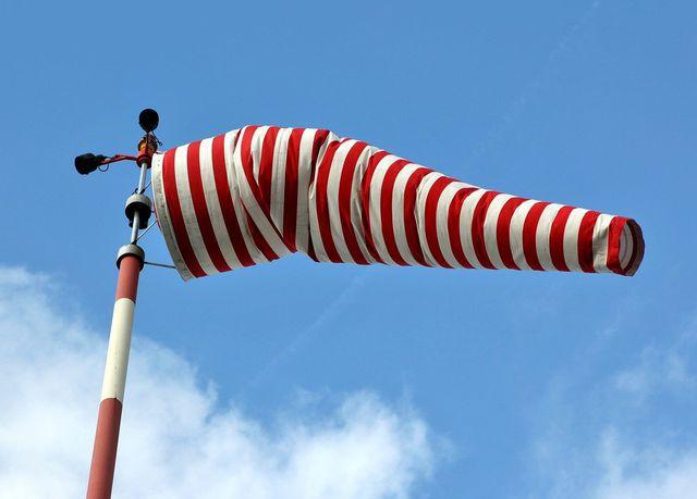 Um einen Drachen steigen zu lassen ist der Wind das A und O.