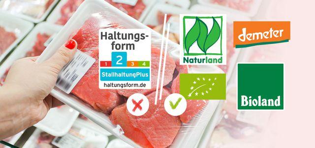 Haltungsform Fleisch Initiative Tierwohl Label