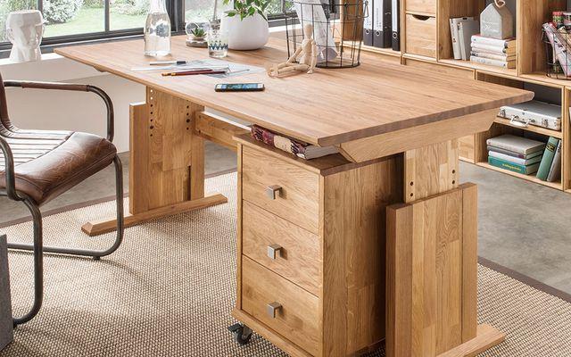 Home-Office-Möbel: Höhenverstellbarer Schreibtisch