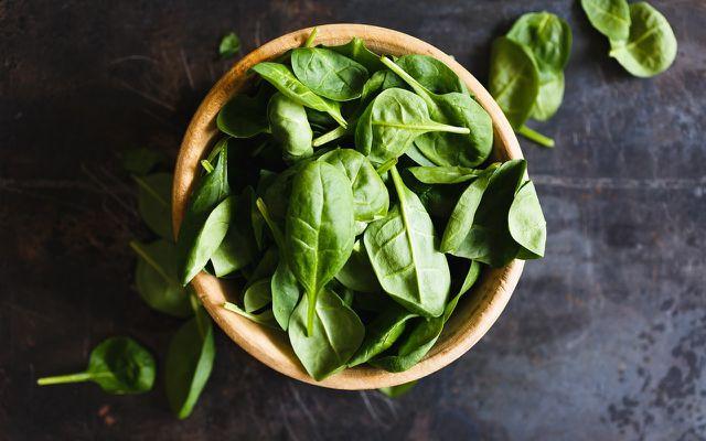 Spinat und Ricotta schmecken wunderbar als Ravioli Füllung.