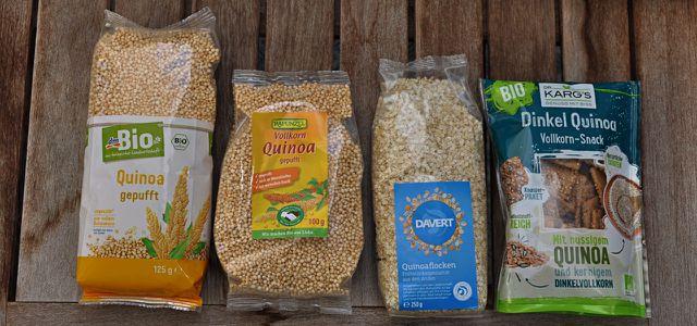 Bio Quinoa kaufen: gepufft und in Flocken