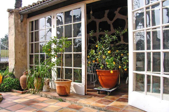 Auch als Glasalternative kommen Polycarbonatplatten zum Beispiel für Wintergärten zum Einsatz.