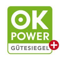 Das ok-power-plus Siegel macht klar: dieser Stromstromanbieter ist frei von konventionellem Strom