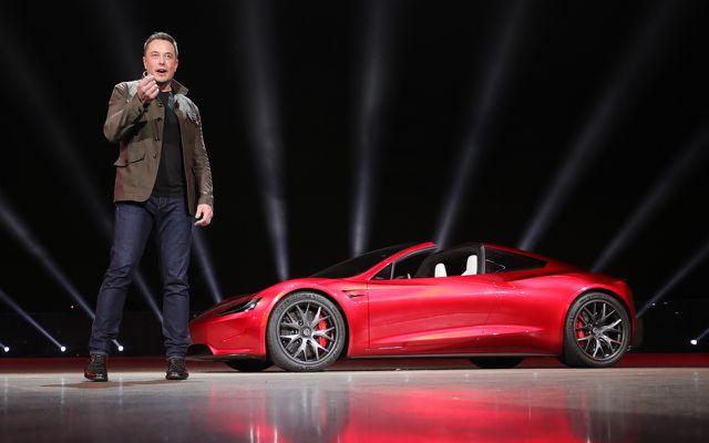 Tesla Roadster Neuauflage Elon Musk