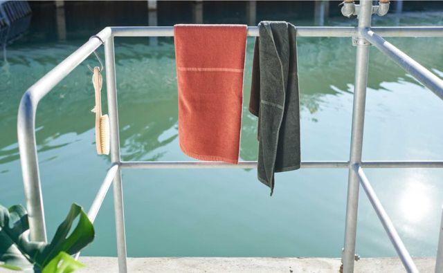 Die Bio-Handtücher von #lavie gibt es in verschiedenen Farben.