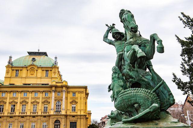 Die kroatische Hauptstadt Zagreb erreichst du von München aus bequem mit dem kroatischen Nachtzug HZPP.