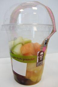 Obst to go: für die Mittagspause nicht ideal