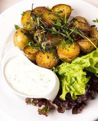 Meerrettichsoße passt zu verschiedenem Gemüse wie zum Beispiel Kartoffeln.