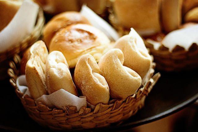Weißmehlprodukte enthalten kaum Ballaststoffe.