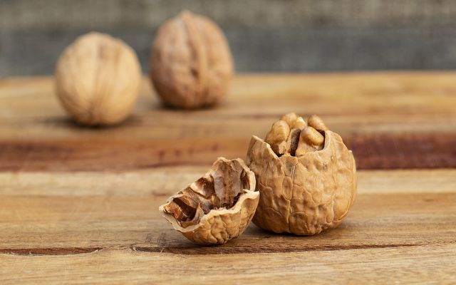 Walnuts help care for healthy skin, hair, and nails