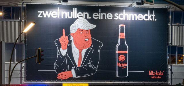 Fritz Kola, Trump, Werbung, Shitstorm