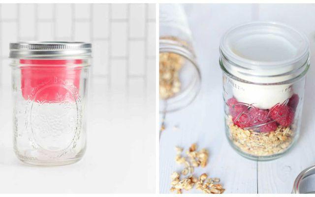 healthy lunch ideas jar to go