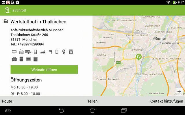 eSchrott Smartphone App