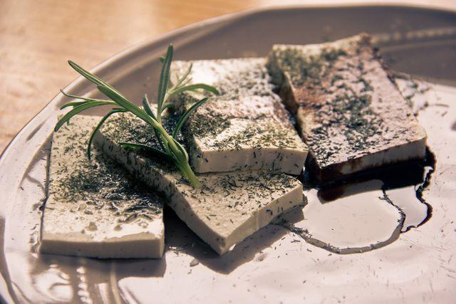 Seasoned tofu is packed full of flavor and really versatile