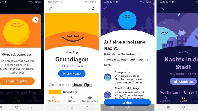 """Meditations-App """"Headspace"""" - für mehr Platz im Kopf"""