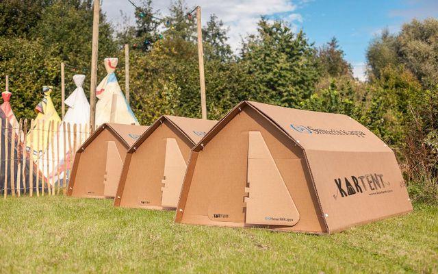 KarTent: Das Zelt aus Karton als nachhaltiges Camping-Zubehör