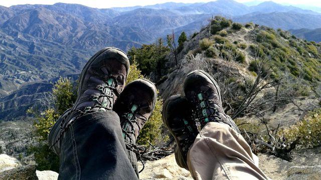 Nachhaltig Wandern Berge Wanderschuhe