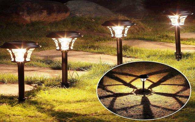 Maggift Solar Pathway Lights