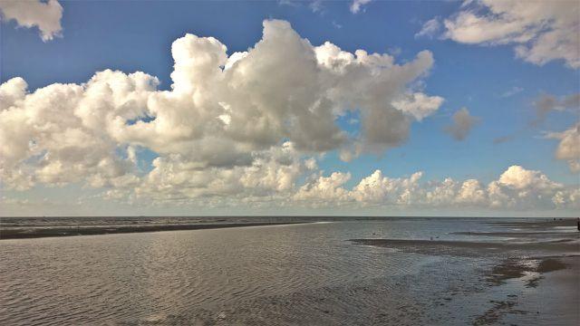 Die Insel Juist hat einen 17 Kilometer langen Strand.