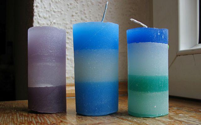 Kerzen selber machen und aus Kerzenresten selbst gießen