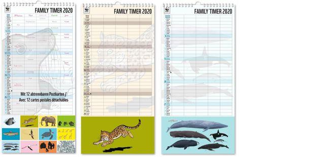 Kalender 2020: WWF-Familienplaner