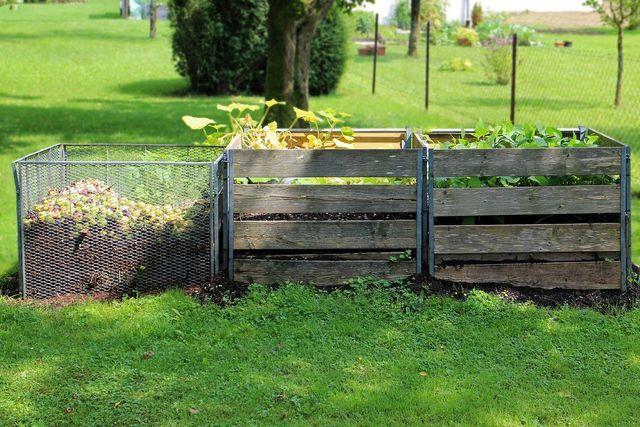 Kompost versorgt den Boden mit Nährstoffen und kann viel Wasser speichern.