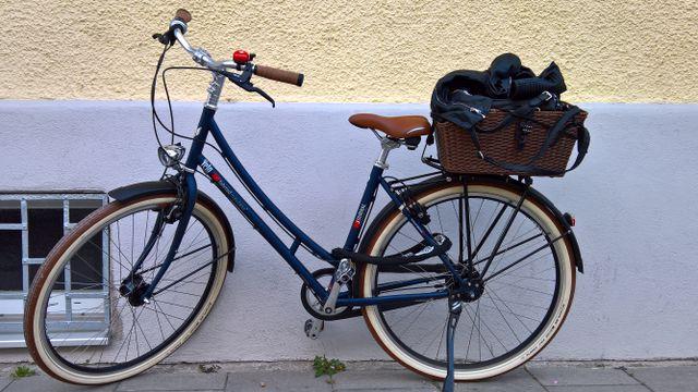 Fahrrad-Citybik